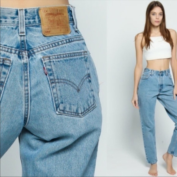 9f9516b2 Levi's Jeans | Vintage Levis 550 Tapered High Waist Mom | Poshmark
